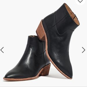 Madewell The Charley Boot in Leather Size 8.5